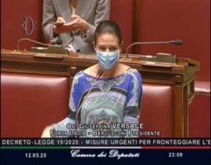 Intervenendo ieri alla Camera dei Deputati sule mirure urgenti per fonteggiare il coronavirus Giusy Versace ha voluto condividere l'appello dell'Ente Nazionale Sordi sulla fornitura gratuita di particolari mascherine con un'apertura trasparente all'altezza della bocca per consentire la lettura del labiale