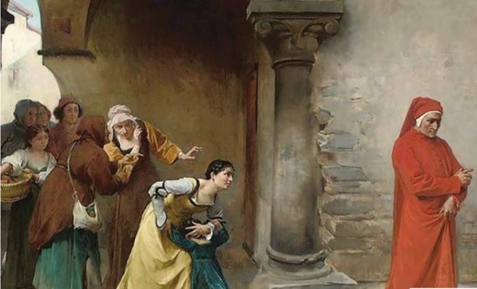 Il 7 aprile del 1300 #Dante si perdeva nella